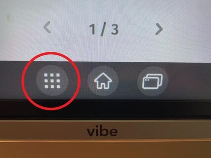 App store button on Vibe