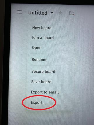 Export to cloud drives